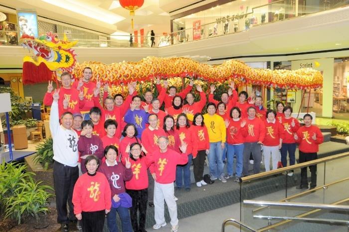 CCACC staff celebrating Lunar New Year